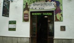 Entrance to Tabanco el pasaje winery