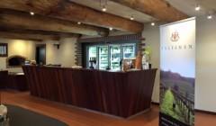 Tasting room of Talisman Wines winery
