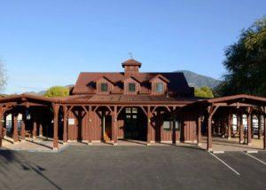 Main building of Tamber bey vineyards