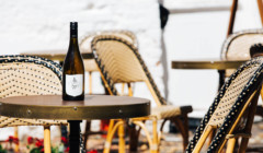 Wine tasting at Tar & Roses winery