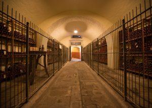 cellar of tenuta di capezzana