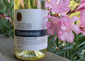 Bottle of wine of Tenuta di Capezzana winery