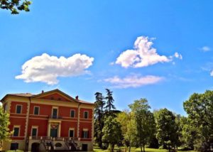 Main building of Tenuta palazzona di maggio winery