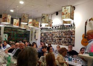 Wine tasting event at tenuta patruno perniola winery