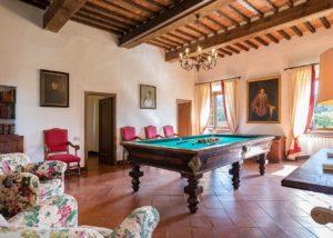 Tasting area at Tenute San Fabiano - Conti Borghini Baldovinetti de' Bacci winery