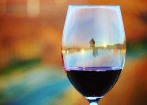 A glass of wine by Tero estates