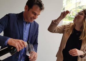 Tzora Vineyards-wine tasting