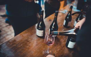 Wine tasting at Viña Casa Marin winery