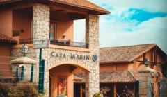 Grand building of the Viña Casa Marin winery