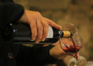 Wine tasting at VIÑA RAVANAL winery