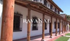 Building of the VIÑA RAVANAL winery