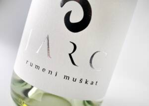 Wine Bottle Label of Vino Jarc