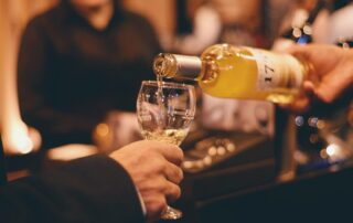Wine tasting at the Vinos 1750 - Uvairenda winery