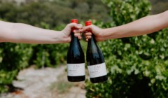 Wine bottles of Willunga100 winery
