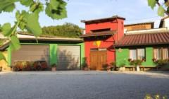 Good-looking building of Zaloščan vina De Adami winery