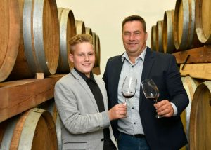 owners of zaloščan vina de adami winery