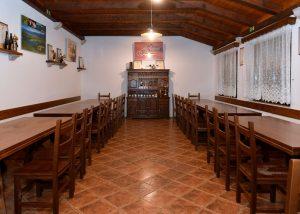 tasting area of zaloščan vina de adami winery