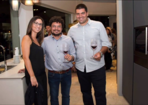 Tenuta Valle delle Ferle wine tasting inside winery in Italy