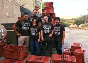 Tenuta Valle delle Ferle winemakers team in Italy