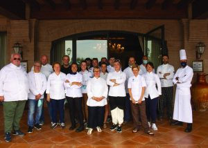 Staffs Of Acetaia Leonardi - Balsamic Tour Winery