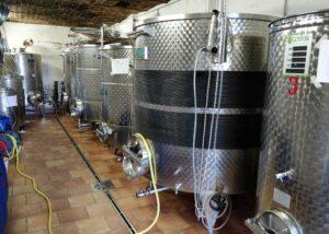 Cellar Of Agriturismo Tere Ruse Mombaruzzo Winery