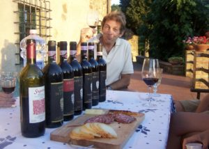 Wine Tasting At Antico Borgo Di Sugame Winery in Chianti, Tuscany, Italy