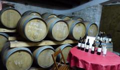 Barrels At Armosa Winery
