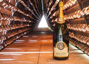 A Bottle Of Wine By Arunda Winery
