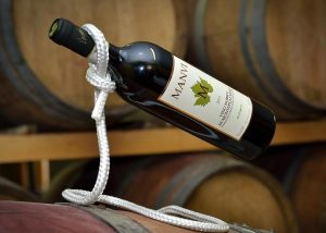 A Bottle Of Wine By Azienda Agricola Manvi Winery