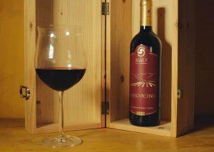 A Bottle Of Wine By Azienda Agricola Sgaly Di Tommaso Sgalippa Winery