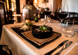 bodega el esteco beautiful food and wine ready for tasting