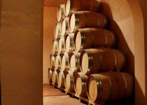Bodega Las Virtudes winery cellar in Spain