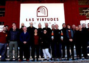 Bodega Las Virtudes winemakers team in Spain