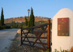 entrance into the estate of Bodega Ramos-Paul winery