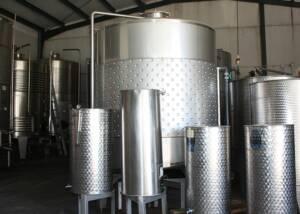 Steel Tanks of Bodegas Al Zagal