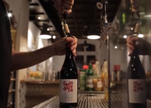 Bodegas Calvente wine tasting process in Spain