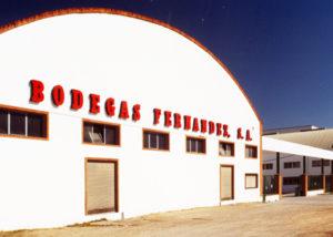 Bodegas Fernandez winery building located in Spain