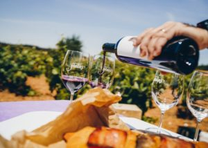 wine tasting at Bodegas Gratias. Familia y Viñedos vineyard in Spain