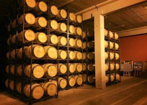 Bodegas Manzanos cellar in Spain