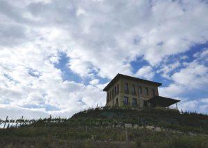 Bodegas Manzanos winery building in Spain