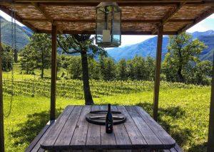 Sitting Arrangement Outside Of Borgo Dei Posseri Winery