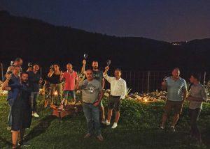 People Enjoying Wine At Boscaini Carlo Winery