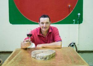 cà bruciata black and white photo of unique room for wine tasting sessions