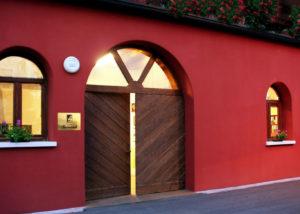 Entrance to Cantina Bernardi winery