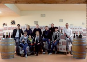 Family of Cantina Bernardi winery