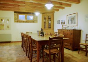 Tasting room of Cantina Bernardi winery