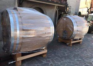 Barrels At Cantina Del Giusto Winery