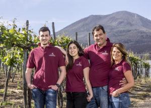 Team At Cantina Del Vesuvio- Winery