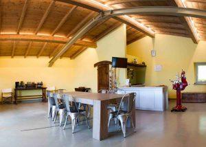 Tasting Room Of Cantina Fegnan Winery