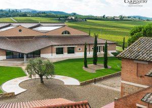 Buildings Of Carpineto Winery
